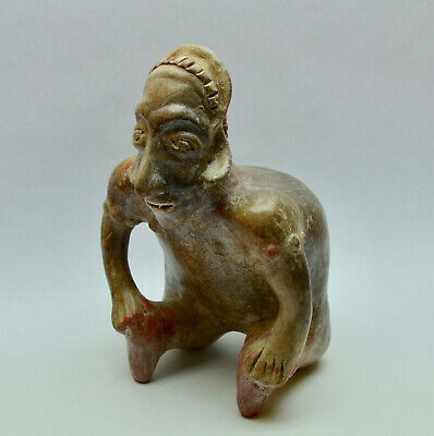 Rare Authentic Pre Columbian Nayarit Hunchback Figure Ex Bill Jackson