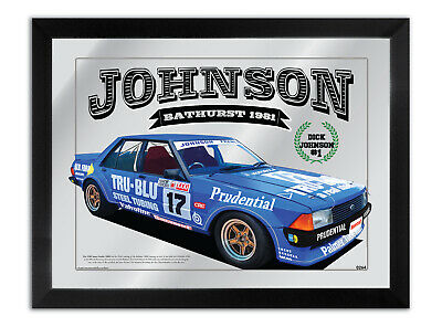 Bar Mirror Bathurst Winner Suit 1981 Dick Johnson Tru Blu Xd- Fan Collection