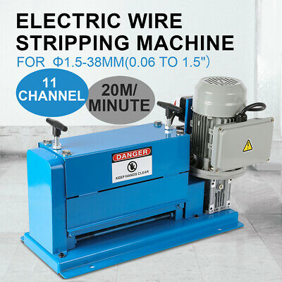 1/2HP Portable Powered Electric Wire Stripping Machine Comercial Cable Stripper