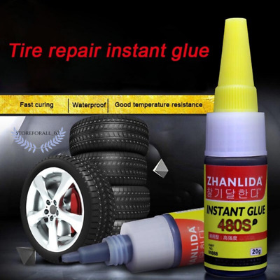 Mighty Tire Repair Glue Tyre Puncture Sealant Glue Bike Car Tire Patch Repair