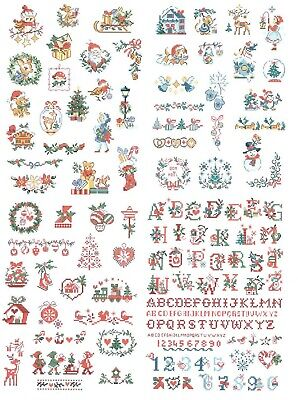 Vintage Christmas Mini's 2 cross stitch chart