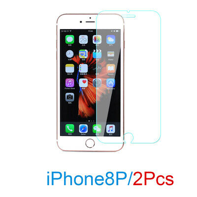 2x NUGLAS 2.5D Tempered Glass Screen Protector FOR APPLE iPhone 8 PLUS