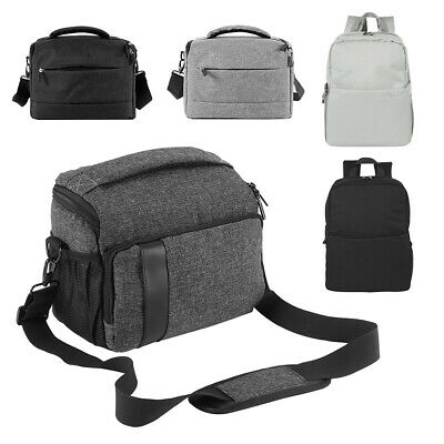 DSLR SLR Camera Bag Shoulder Case Messenger Waterproof Backpack Sony Canon Nikon