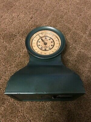 Vintage Kingsbury Registering Coin Bank  Metal