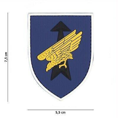 Deutsche Adler gelb Patch Klett Abzeichen Airsoft Paintball Softair