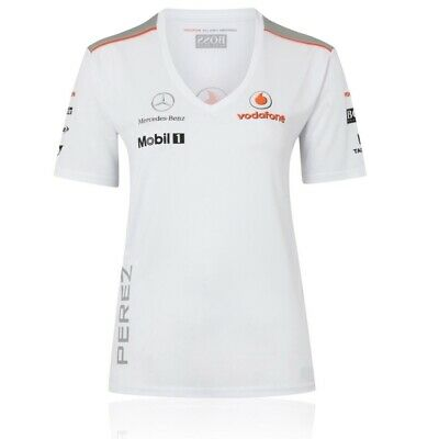 TOP T-shirt Ladies Sergio Perez Formula One1 McLaren Mercedes F1 Female  US