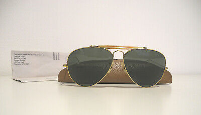 Ray-Ban Bausch& Lomb Outdoorsman 1/30 10K GO Sunglasses Occhiali + Case+ Paper