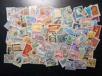 Quality Packet of 100 Different Vintage Cyprus Used Stamps~Collection~E~UK