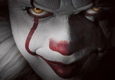 IT Movie PHOTO Print POSTER 2017 Textless Art Pennywise Stephen King Clown 006