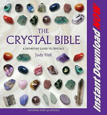 The Crystal Bible by Judy Hall - Instant Download