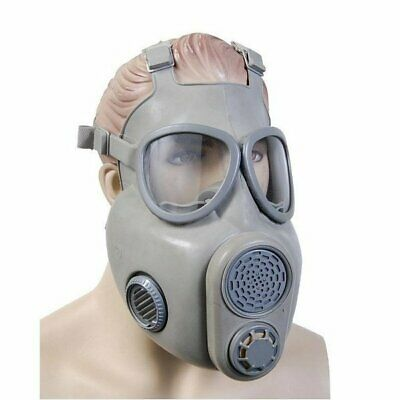 Czech M10 Gas Mask W 2 New Filters