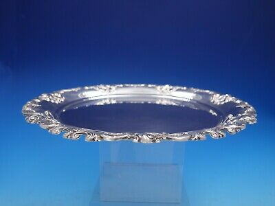 Grande Baroque By Wallace Sterling Silver Bowl Underplate #6621 (#4125)