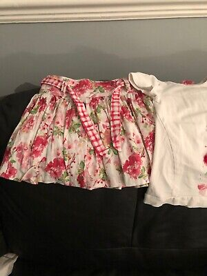 Pampolina Girls Skirt And Top Set Age 2