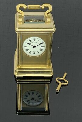 Superb 19th Century Carriage Clock by Sir John Bennett, Ltd., Paris