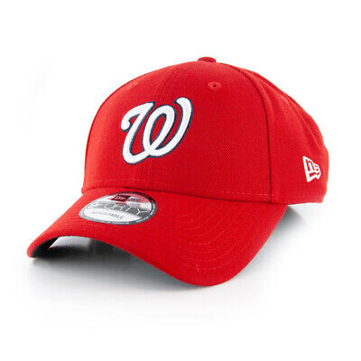 "New Era 940 Washington Nationals ""World Series 2019"" Strapback Hat (Red) MLB Cap"