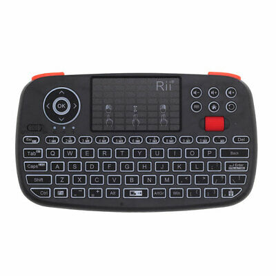 Rii RT726 Bluetooth 2.4G Wifi Air Mouse Mini Clavier Touchpad Airmouse