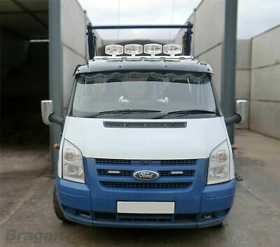 To Fit 2013 - 2018 Ford Transit Tourneo Custom Roof Light Bar + LEDs + Spots