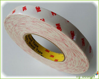 0,29 €/ M Trim Teppichleiste Skirting Board Double-Sided Tape 19mmx50m