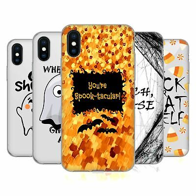 OFFICIAL EBI EMPORIUM SPOOKY TYPOGRAPHY SOFT GEL CASE FOR APPLE iPHONE PHONES