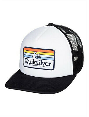Quiksilver Hessford Trucker Hat Boys in White