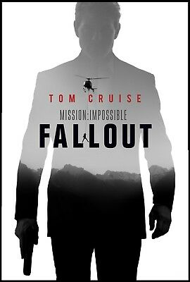 Mission: Impossible - Fallout Dvd Disc | Tom Cruise