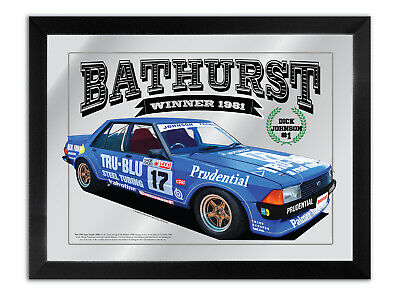 Bar Mirror Bathurst Winner Suit 1981 Dick Johnson Tru Blu Xd Fan Collection