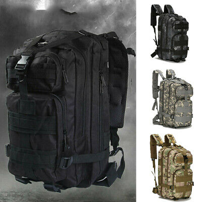 Military Tactical Army Backpack Rucksack Camping Hiking Trekking Outdoor Bag New