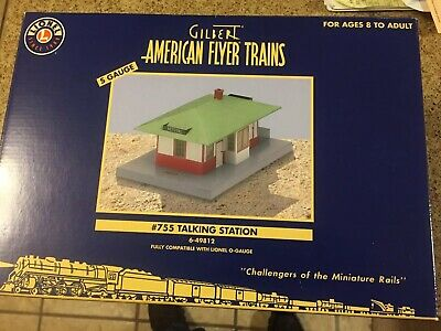 Repro American Flyer Talking Station Record for #755 or #799 By General Mills