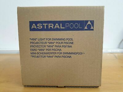 Astral pool MINI ABS DICHRO LIGHT WITH NICHE FOR LINER POOLS WITH S.S. FACE PLAT
