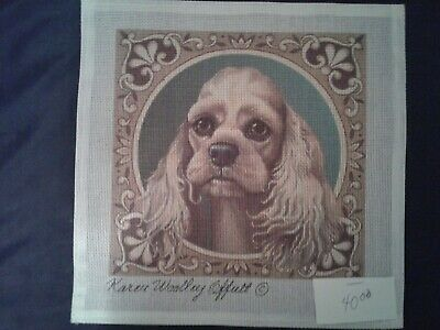 Needlepoint Hand Painted Canvas by Karen Wooley Offut