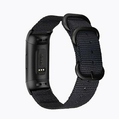 Nylon Watchbands For Fitbit Charge 3 Breathable Straps Watch Band Charge 3 Bands