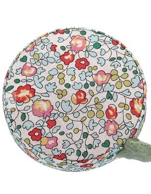 Liberty Of London Floral Fabric  Retractable tape measure Liberty Fabric~crafts