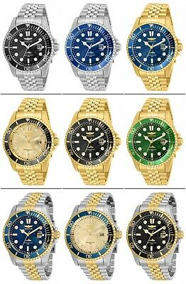 Invicta Men's Pro Diver Stainless Steel 43mm Quartz Watch 30609-30618