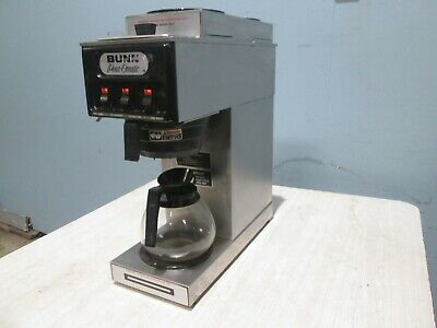 """""""BUNN S"""" H.D. COMMERCIAL (NSF) """"POUR-OVER"""" COFFEE BREWER w/3 POT WARMERS & 1 POT"""
