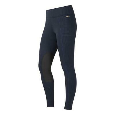 Kerrits Equestrian Fleece Lite Riding Tights with GripSoft Knee Patches