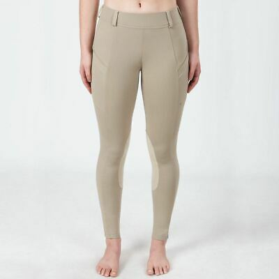Irideon Children's Bending Line Riding Tights with Chamisoft Knee Patches
