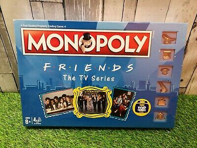 Friends Special Edition Monopoly Board Game TV Series Property Strategy Sealed