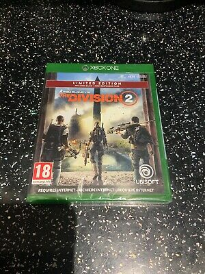 Xbox One Game Tom Clancy's The Division 2 Limited Edition New & Sealed