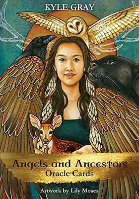 Angels and Ancestors Oracle Cards: A 55-Card Deck and Guidebook by Gray, Kyle, N