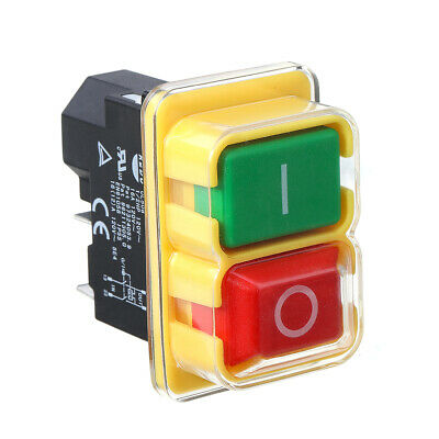 Kedu KJD17 120V 16/12A 5Pins Electromagnetic Push Bouton Switch For Controlling