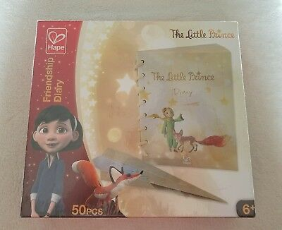 Hape 824693 The Little Prince Friendship Diary NEW