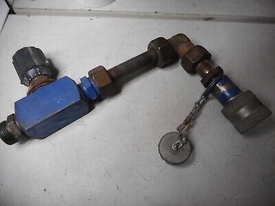 FLUTEC HYDRAULIC NEEDLE VALVE and Self Seal Coupling -- DV12