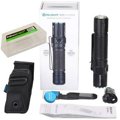 Olight  M2R Pro 1800 lumen rechargeable LED tactical flashlight w/ battery 2020