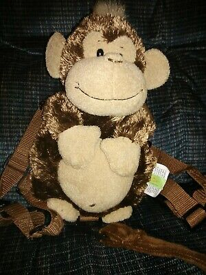 Safety Harness Strap Baby Toddler Walking  Reins  Monkey Cheeky Charlie