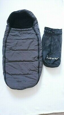 Cosy Toes Compatible with Quinny Buzz//Zapp//Zapp Xtra//Moodd Black Footmuff