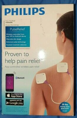 Philips PulseRelief Tens/Ems Bluetooth controlled for iOS and Android devices.