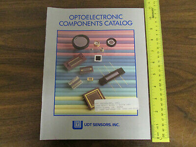 UDT Sensors Inc. Optoelectronics Components Catalog 1990s