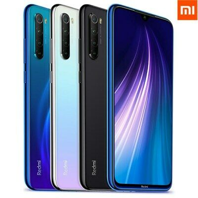 GLOBAL Xiaomi Redmi Note 8 128GB 64GB Smartphone 48MP Snapdragon665 CELLULARE EU