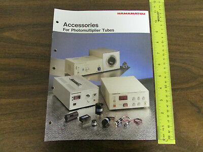 Hamamatsu Accessories For Photomultiplier Tubes Catalog 44pp 1990