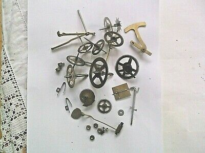 Cogs Etc  From A Privale Mantle Clock Mechanism Was 1 7/16 Inch Deep  Ref S11